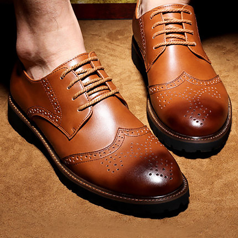 4685edbf780 Genuine Leather Mens Formal Party Office Shoes on Storenvy