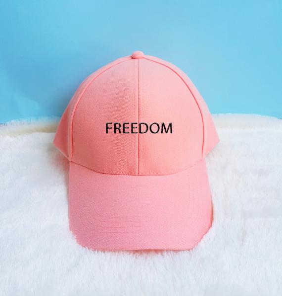 9ef8416ef19 Freedom Embroidery Baseball Cap Unisex Hat Tumblr Pinterest on Storenvy