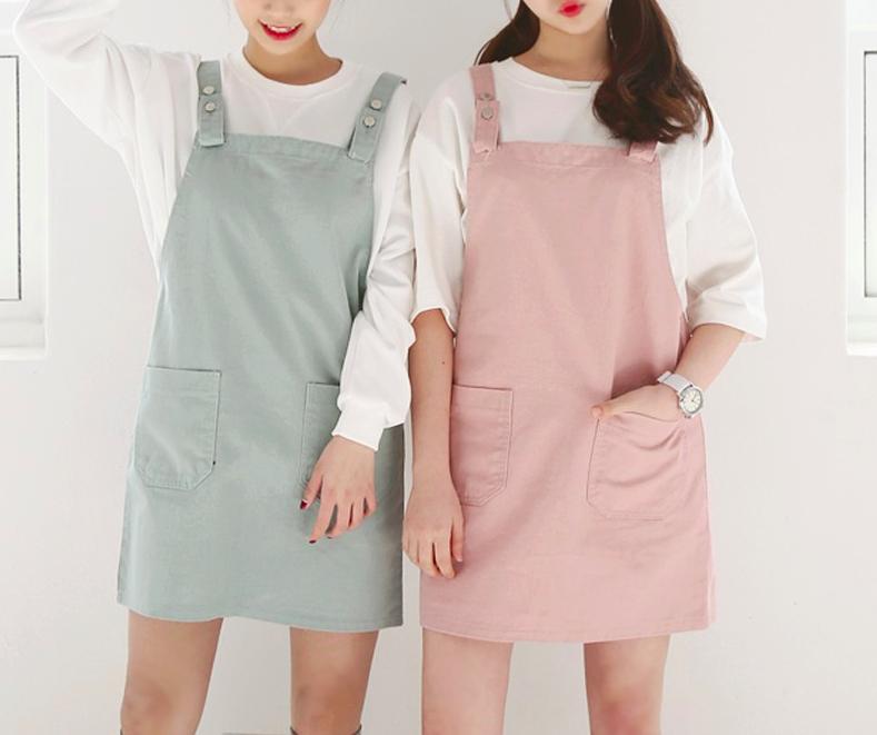 3bf6067b5f Pastel Overalls Dress · hhotaru ·