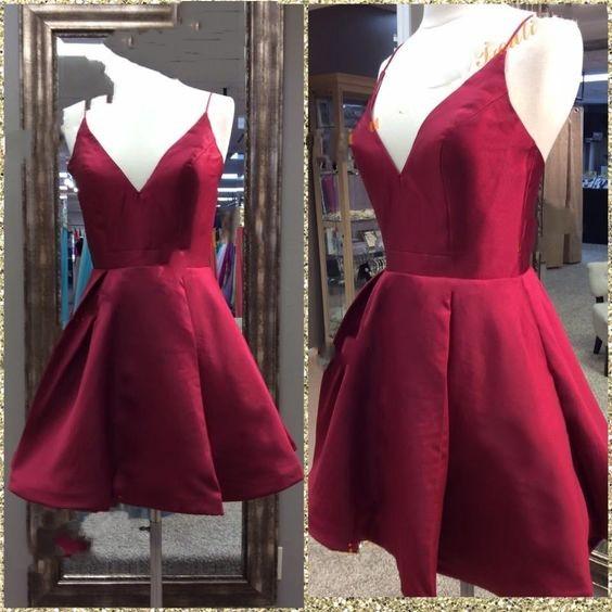 9b611753d7f Spaghetti Straps Homecoming Dresses