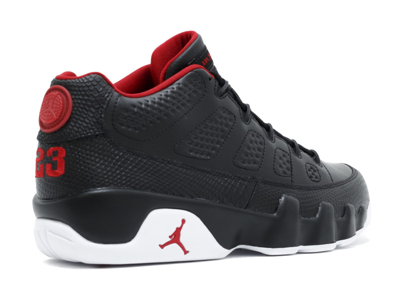 """low priced d5c48 29d0b AIR JORDAN 9 LOW """"BRED"""" Wmn 5.5- 8.5 Men8.5-13 Color: Black/University  Red-White Style Code: 832822-001 sold by FreshnUp"""