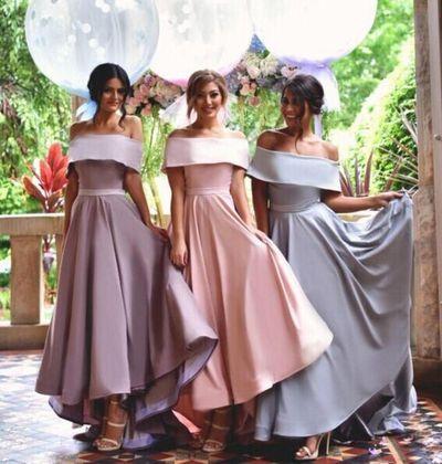Off Shoulder Simple Bridesmaid Dress,New Arrival Custom bridesmaid ...