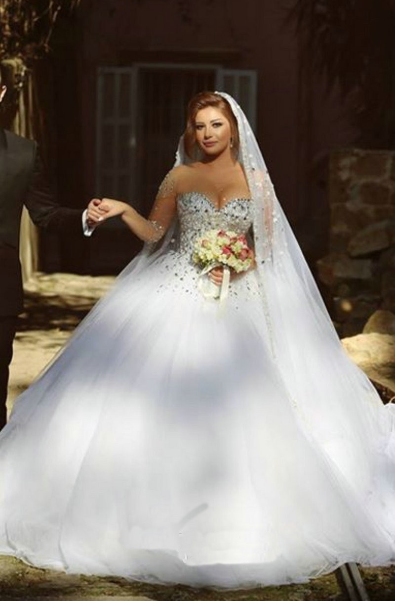 Princess Wedding Gown: Princess Style Wedding Dress,Dresses For Brides,Bridal