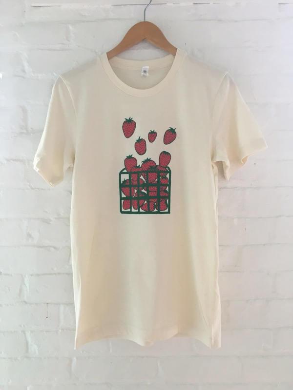 b2adee9e4 Strawberry Shirt, Fruit Shirt, Food Shirt, Screen Printed T Shirt ...