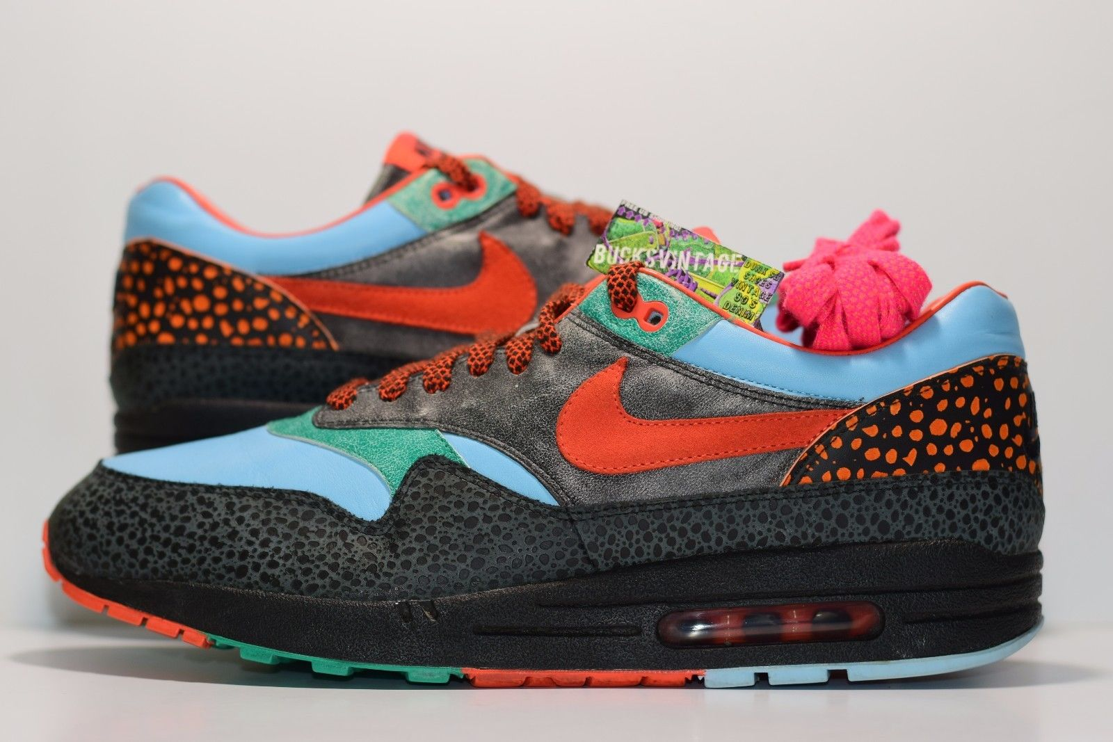 best authentic best price cheap sale Size 12 | 2006 Nike Air Max 1 Supreme Tech Pack Safari from BucksVintage