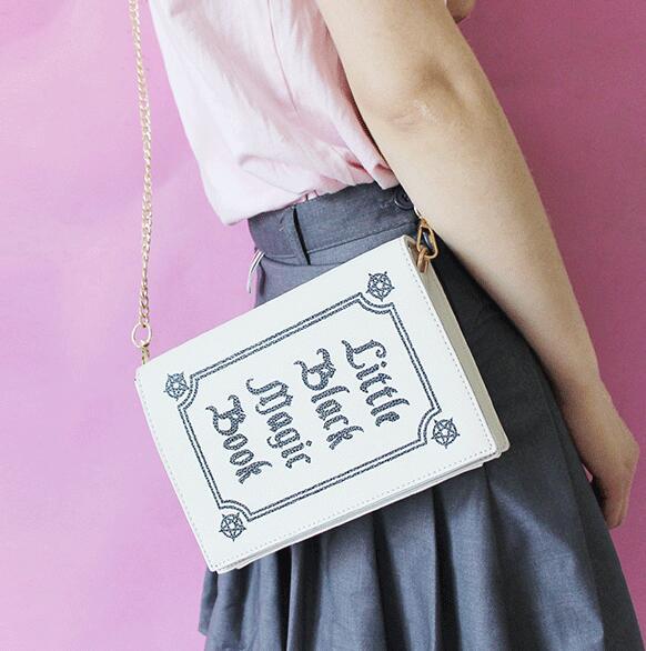 1019db198b Lolita Magic Book Crossbody Bag on Storenvy