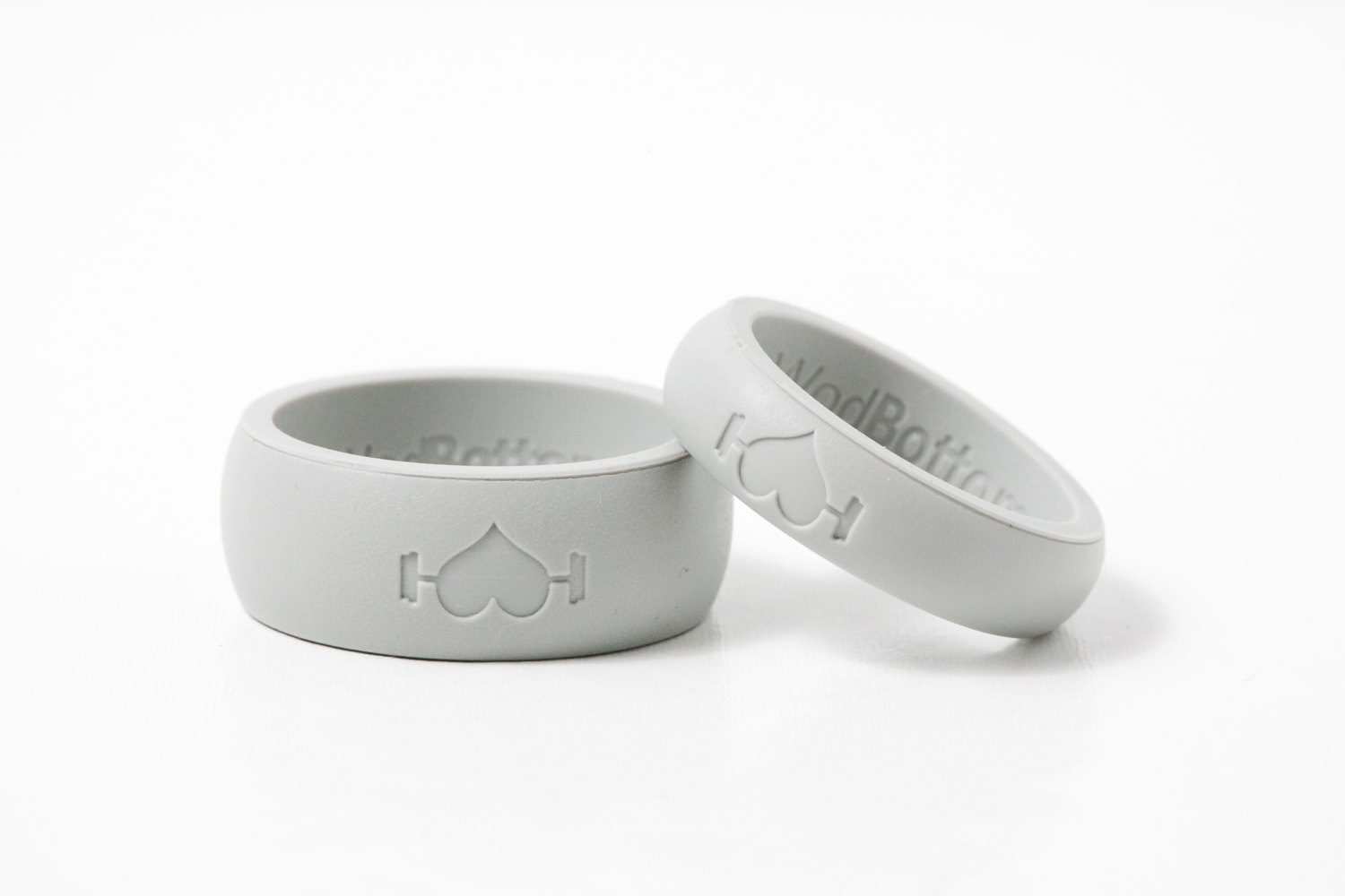 2pack Silicone Wedding Rings For Men Women 2 Bands Choose: Message Wedding Bands With Silicone At Websimilar.org