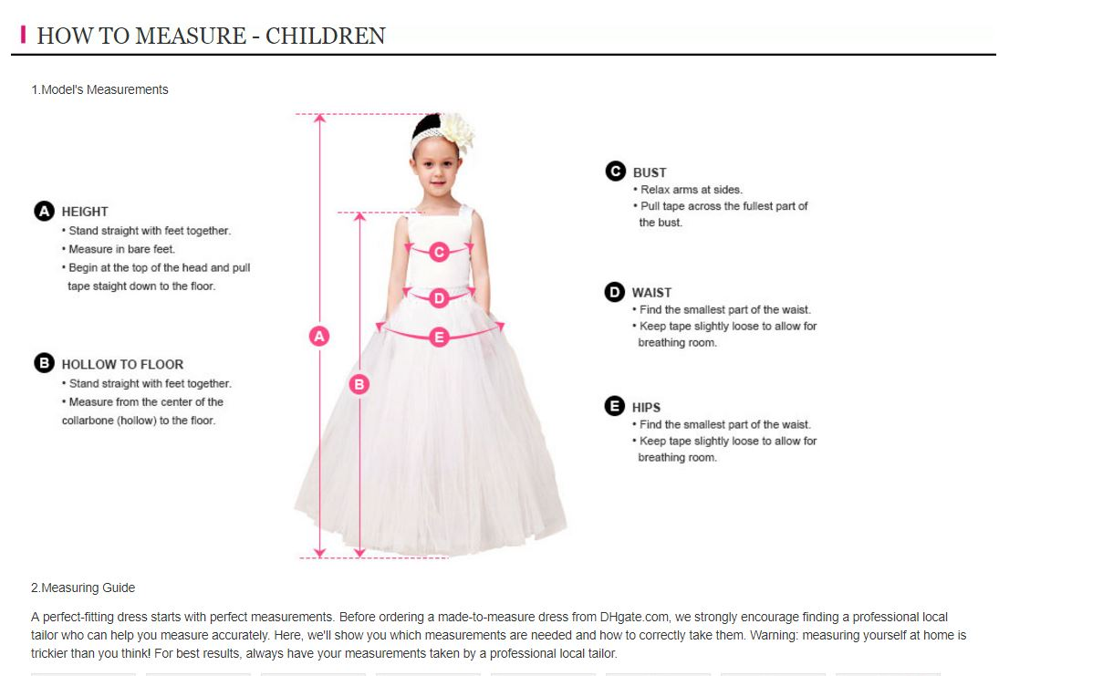 Sweet Pink Flower Girl Dresses With Gold Sequind Bowknot