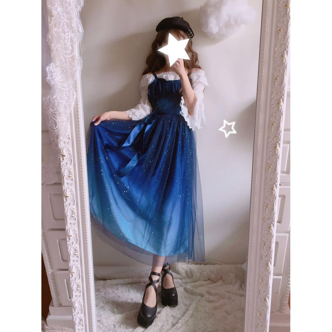 b81e34800b1 ... Thumbnail 2 · Gradient Galaxy Gauze Dress Fairy Starry Night Doll Gown  DC455 - Thumbnail 3 ...