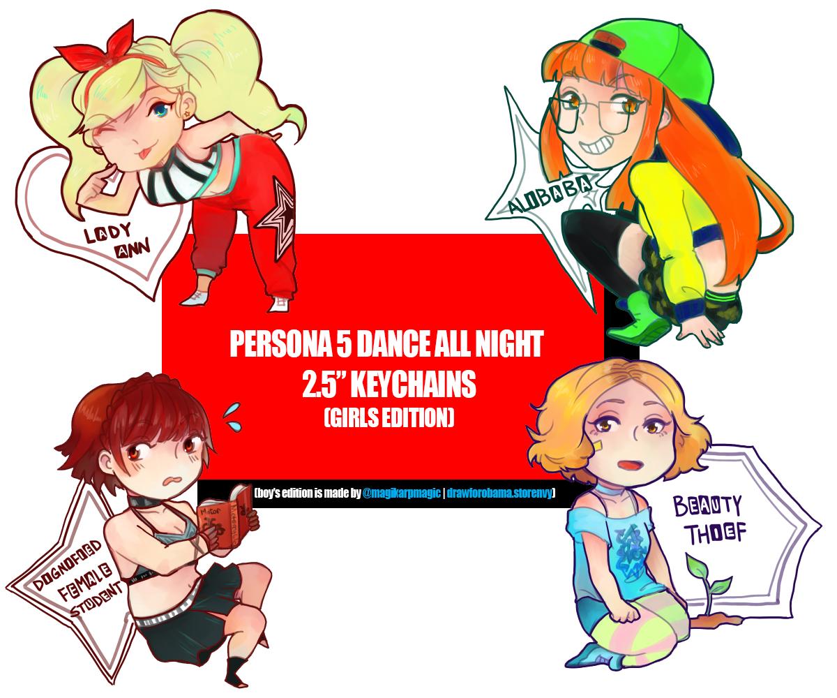 3c4d8de0ea61 Persona 5 Dance All Night 2.5