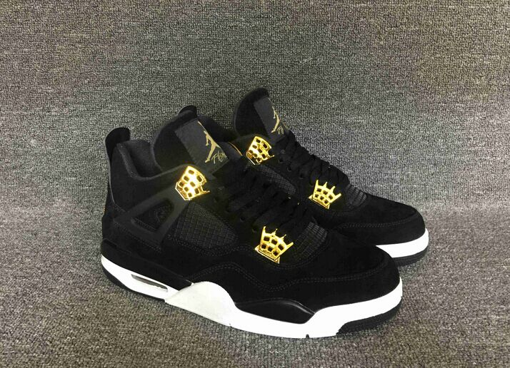 online store 1eb39 3bf9c Mens Air Jordan 4 Retro 308497-032 Black Metallic Gold Brand New Size on  Storenvy