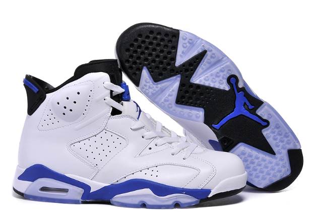 new product a0e79 d51a4 new Air Jordan 6 Retro Sport Blue 384664 107 on Storenvy