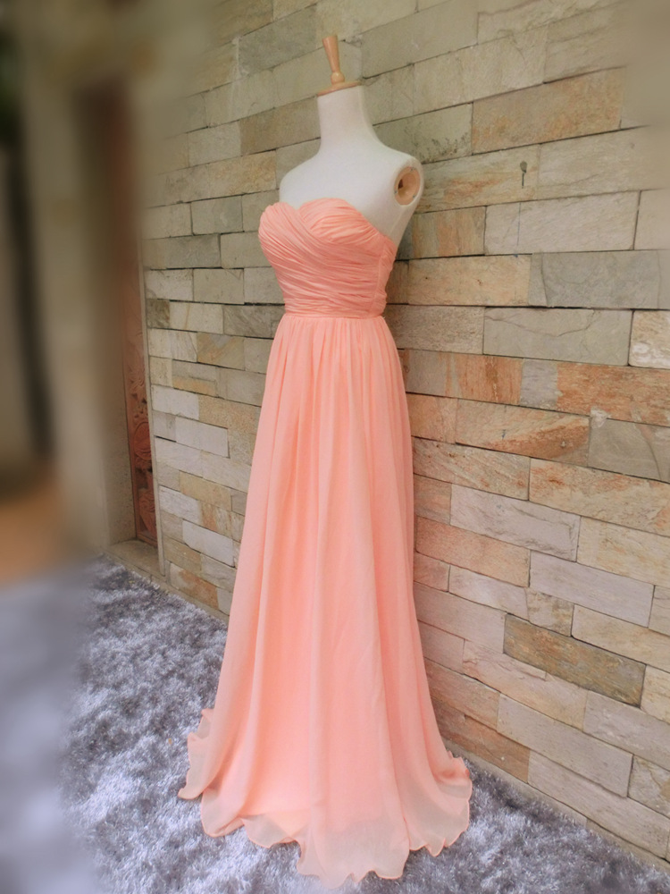 Sweetheart Bridesmaid Dressessimple Bridesmaid Dresseslong Soft