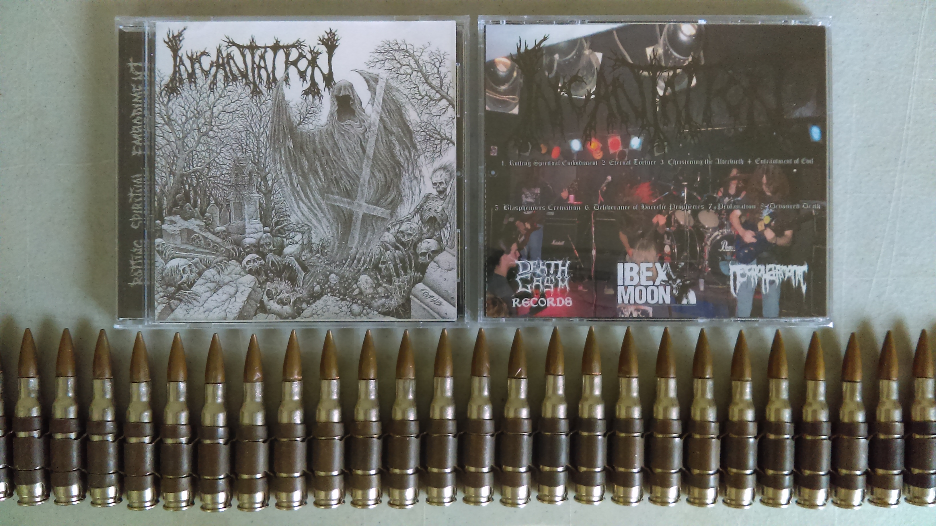 Incantation - Rotting Spiritual Embodiment CD from Diabolic Force  Distribution