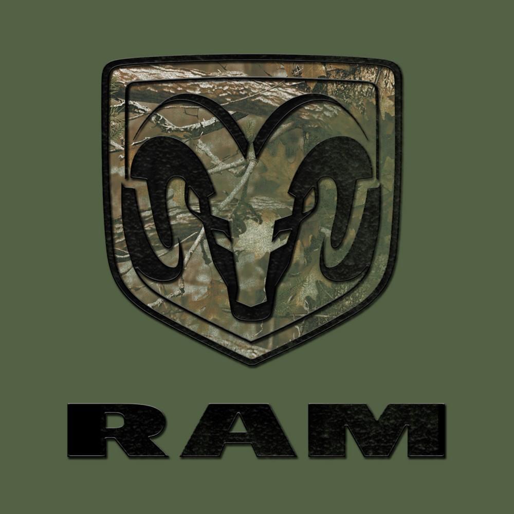 New Licensed Dodge Ramdodge Ram Logoon Realtree Camonice