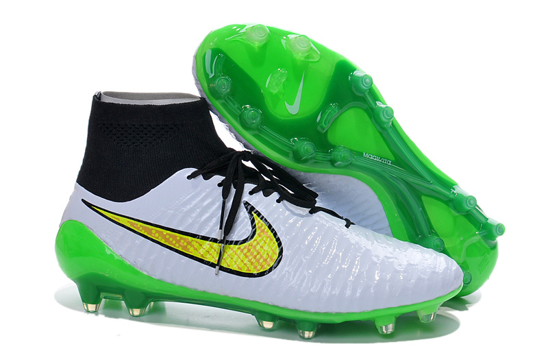 low priced 74fef 0da7d Cheap Nike Magista Obra FG with ACC Green White Black Yellow on Storenvy