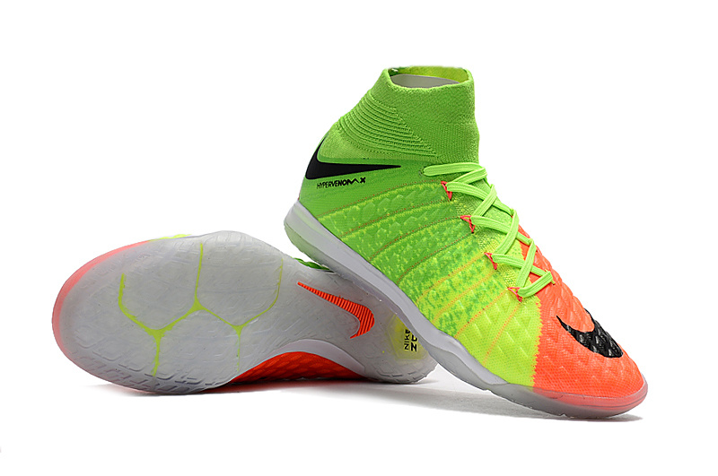 sale retailer 1e4b8 5982f 2017 Cheap Nike HypervenomX Proximo II DF IC Grass Green Yellow ...