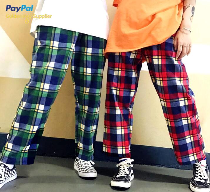 Harajuku Plaid Pants from Moooh!!