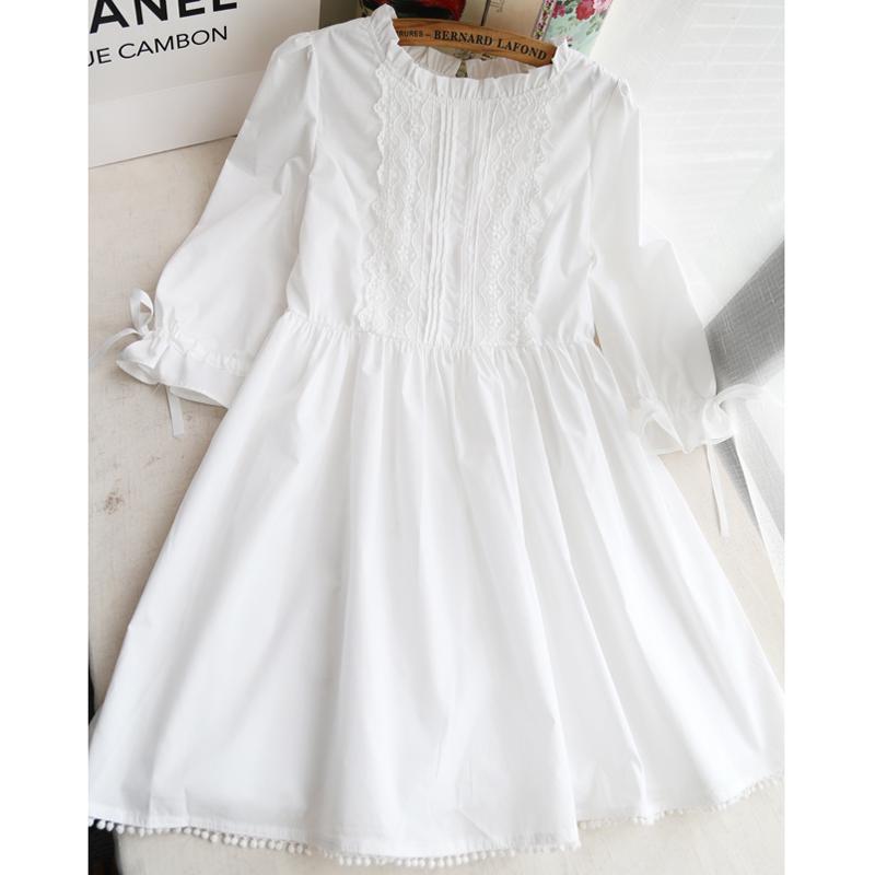 9b20b931b6 WHITE FRILLY LACE DRESS on Storenvy