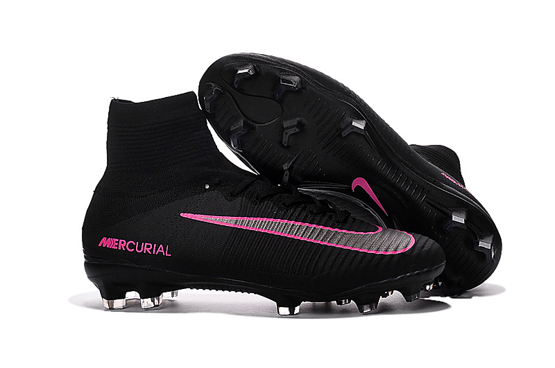 Cheap 20nike 20cleats 20mercurial 20superfly 20v 20fg 20pink 20grey 20black  423 original 0db78def0