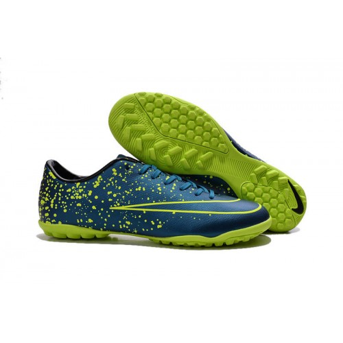 the best attitude b7636 6da7c Nike Mercurial Victory V TF Squadron Blue Black Volt sold by Cleats23A