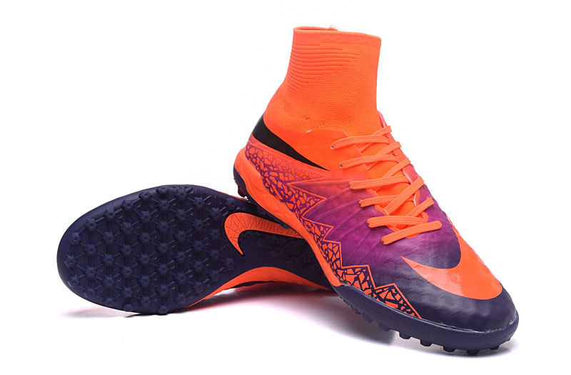 wholesale dealer dc584 341c5 Nike Cleats Nike Hypervenom Phantom II TF Orange Purple sold by cleatssale4A