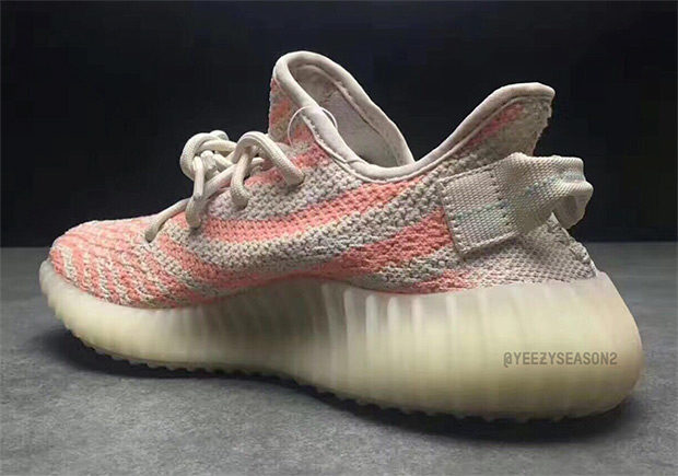 "best website ad6ad 784be ADIDAS YEEZY BOOST 350 V2 ""CHALK CORAL"" Color: Clear Brown/Chalk  Coral-Clear Aqua Style Code: B37574 sold by FreshnUp"