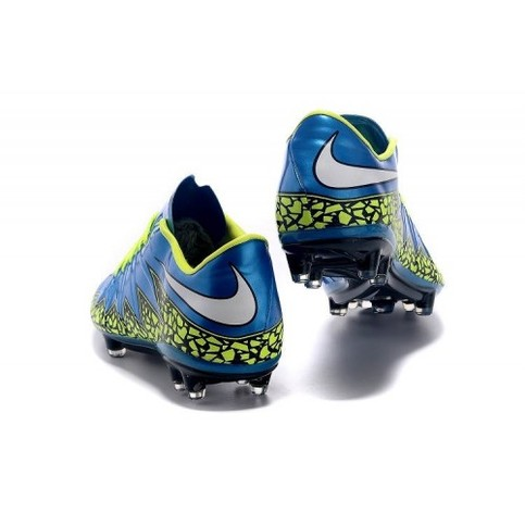 buy popular 8712b 0deff Nike Hypervenom II FG Dark Blue Green Black White sold by Cleats23A