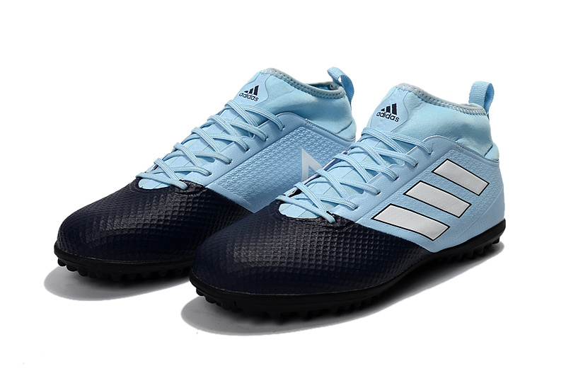 38e16753a Cheap 20adidas 20ace 2017.3 20primemesh 20tf 20fluorescent 20baby 20blue  20white 20black 20soccer 20cleats1115 small
