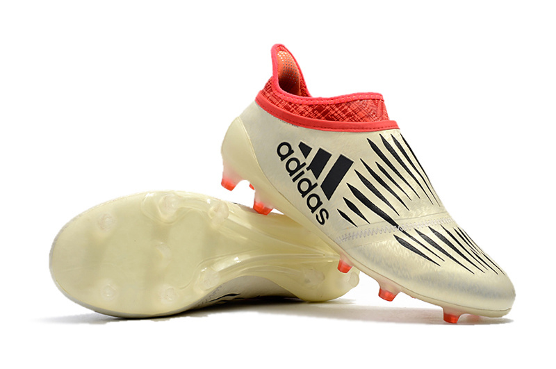 wholesale dealer 47fb0 d173a Adidas X 16+ Purechaos FG Champaign Gold Red Black Soccer Cleats sold by  cleatssale4A
