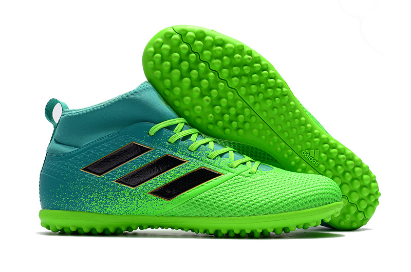 innovative design 9d7ca 32456 adidas ACE 17.3 Primemesh TF Blue Grass Green Black Soccer Cleats sold by  cleatssale4A