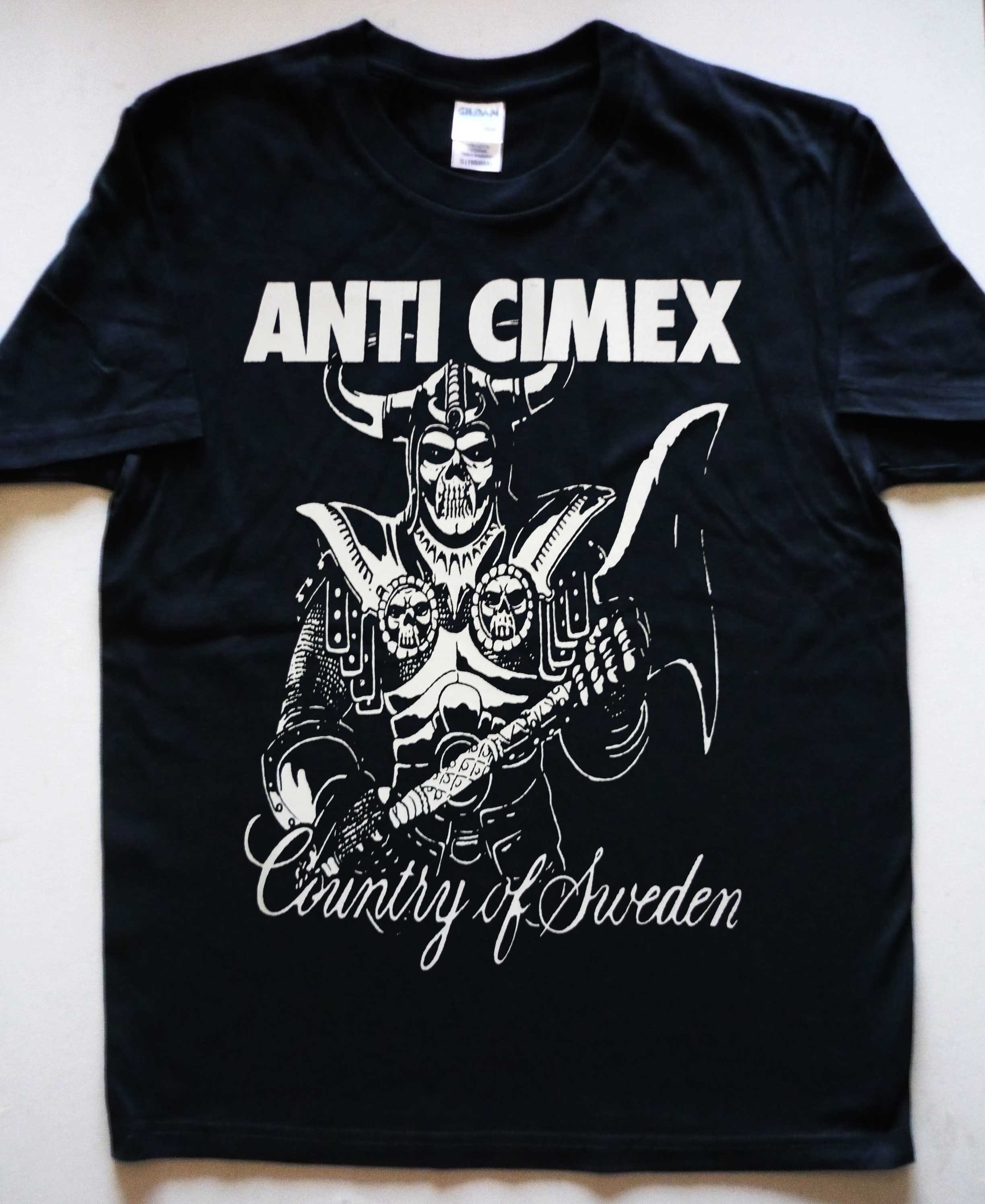 Anti Cimex Absolut Country T Shirt Black Seeds Records Merch Online Store Powered By Storenvy