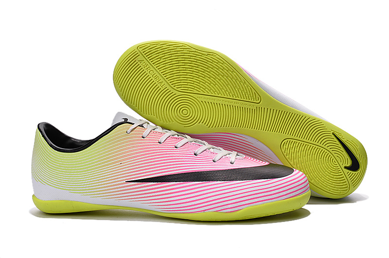 outlet store 62f99 d4474 nike mercurial victory v indoor football shoes black pink