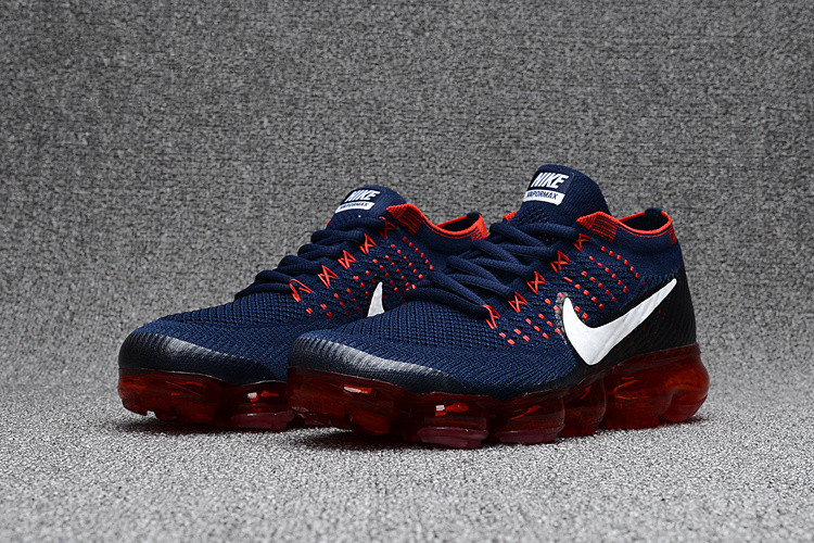 Cool Nike Air VaporMax Mens Dark Blue Red Shoe on Storenvy 0552457f9211