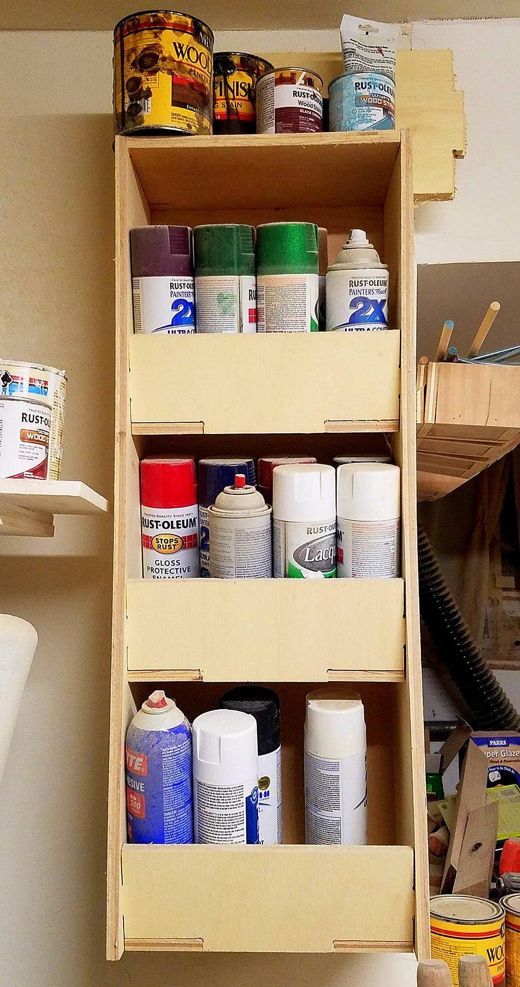 Spray Paint Storage Rattlecan Storage Garage Storage Solution Paint Cans Spray Paint Storage Solutions Garage Storage Hanging Storage Sold By