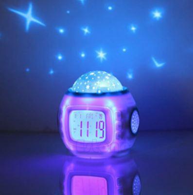 Alarm Clock Starry Night Light Projector Free Shipping from Widget  Essentials