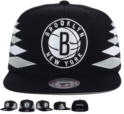 pretty nice 41abc 89be5 Mitchell 20 26 20ness 20brooklyn 20nets 20nba 20solid 20diamond 20snapback  20cap 584 original