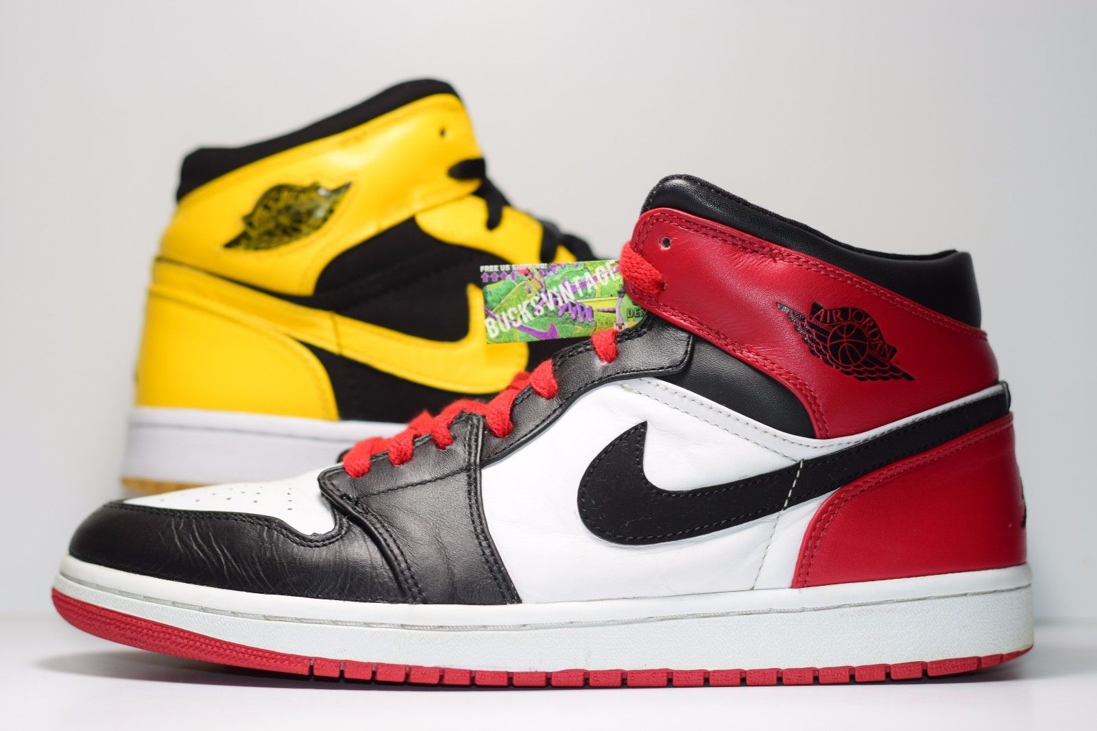 buy sale top quality classic fit Size 10.5 | 2007 Nike Air Jordan 1 Retro Old Love New Love Black Toe from  BucksVintage