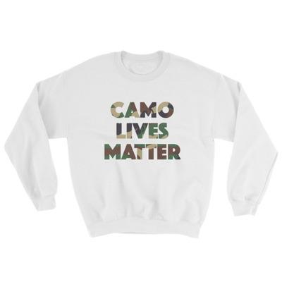 Camo Lives Matter Sweatshirt · Morrison Image Collective