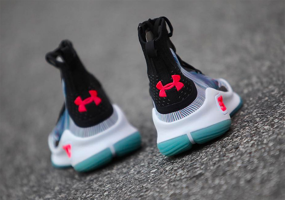 """d9e90a6172f Under Armour Curry 4 Black White-Red """"MORE MAGIC"""" on Storenvy"""