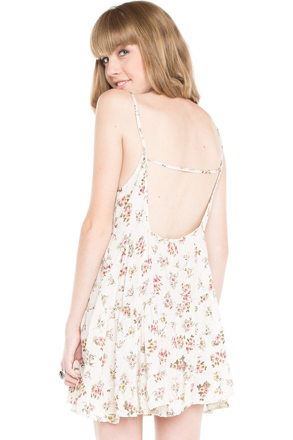 18e5ad5a3cd Brandy Melville Floral Jada Dress on Storenvy