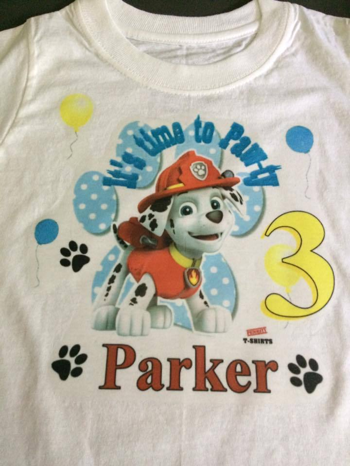 Paw Patrol Birthday Shirt On Storenvy