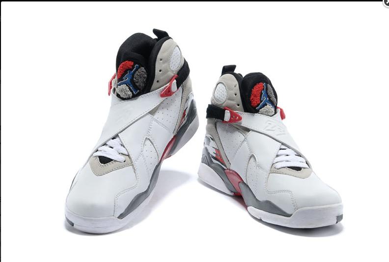b3fcca19e1ba 50% off original air jordan 8 viii retro white black true red sneakers  e15dd cb22c  best 2017 20air 20jordan 208 20retro 20 e2 80 9cbugs 20bunny  e2 80 9d ...