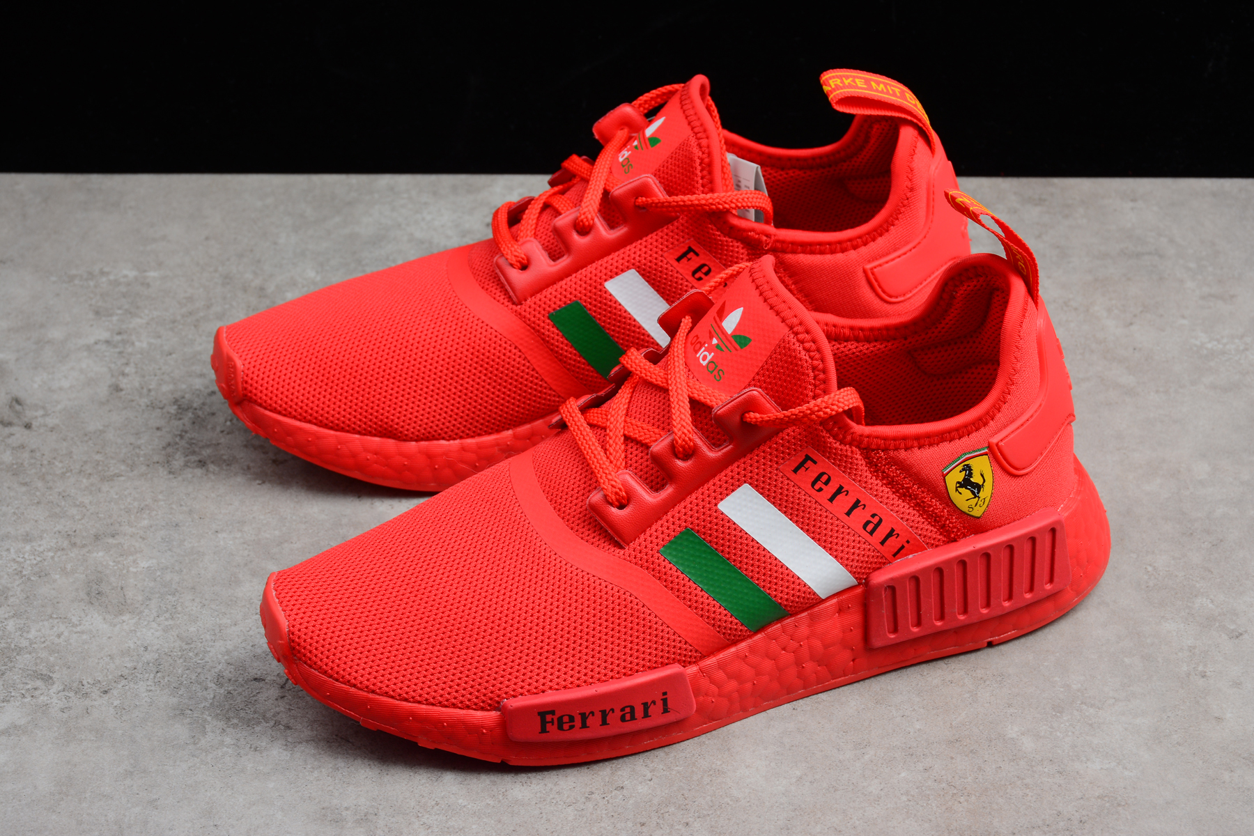 550cea055ee Fashion Adidas NMD Boost Ferrari red women men shoes on Storenvy