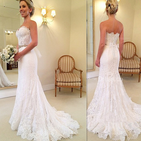 trumpet lace wedding dress new arrival a line wedding dresses wedding 8089