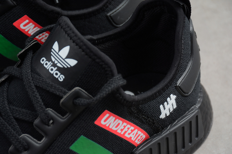 c2ea6fa4d ... Fashion Adidas NMD R1 x Undefeated Boost Black runner shoes - Thumbnail  4