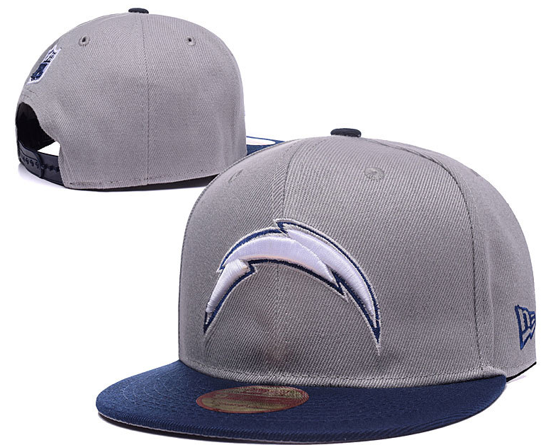 NFL San Diego Chargers Snapback Grey white on Storenvy a752b784992