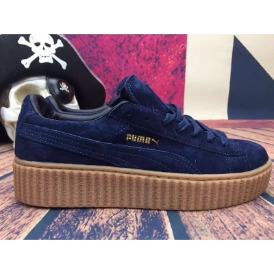 super popular b5c98 38350 Blue Puma Creepers sold by BoutiqueWilmaaa