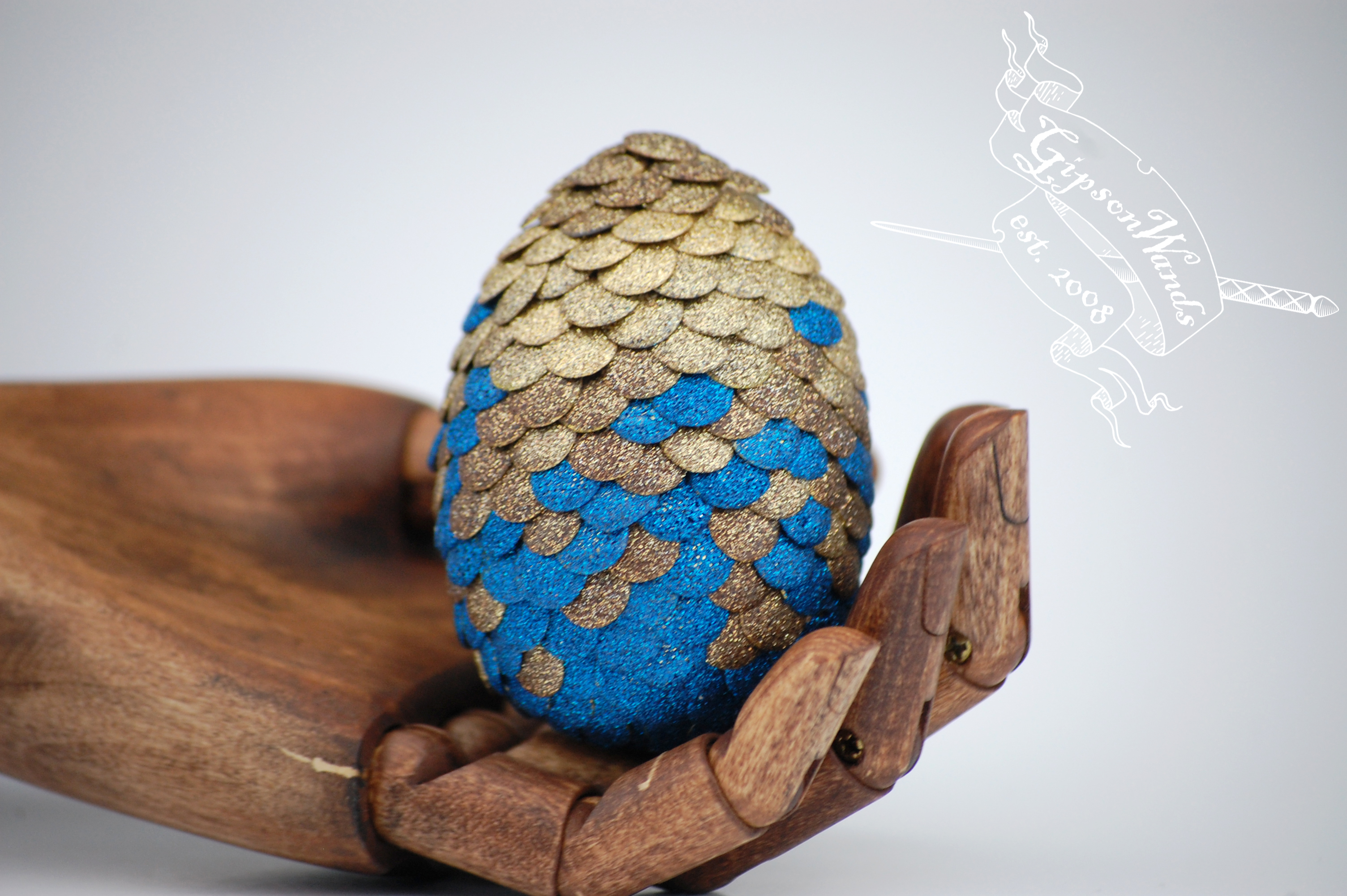 Ravenclaw Dragon Egg From Gipsonwands