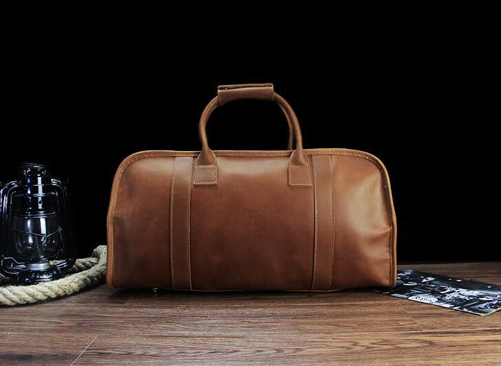 8c4bfaea9e11 Vintage Leather Travel Bag